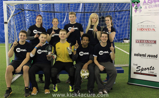 Grand River Soccer's Kick4aCure!